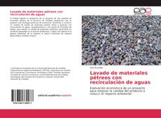 Portada del libro de Lavado de materiales pétreos con recirculación de aguas