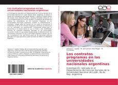 Portada del libro de Los contratos programas en las universidades nacionales argentinas