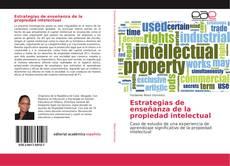 Bookcover of Estrategias de enseñanza de la propiedad intelectual
