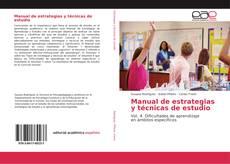 Borítókép a  Manual de estrategias y técnicas de estudio - hoz