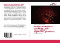 Análisis estructural mediante redes neuronales y algoritmos genéticos