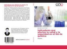 Capa do livro de Indicadores que afectan la salud y la seguridad en el lab de quimica