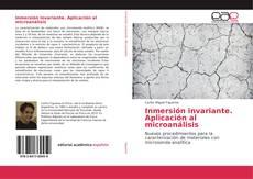 Inmersión invariante. Aplicación al microanálisis