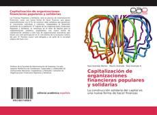Portada del libro de Capitalización de organizaciones financieras populares y solidarias