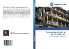 Bookcover of Thoughts on India at aamjanata.com