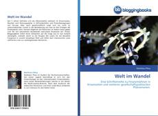 Welt im Wandel kitap kapağı