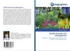 Buchcover von Große Freude mit Kleingärten