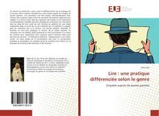 Couverture de Lire : une pratique différenciée selon le genre
