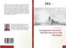 Bookcover of Le diagnostic territorial : Etat des lieux de la ville d'Inezgane