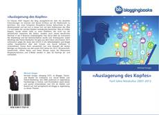 Bookcover of «Auslagerung des Kopfes»