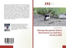 Buchcover von Elevage des poules (Gallus domesticus) au Sud-Kivu, Est de la RDC