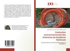 Couverture de Evaluation environnementale des itinéraires du backbone Nationale