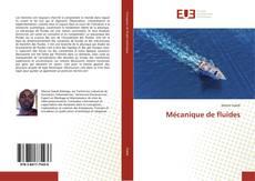 Mécanique de fluides kitap kapağı