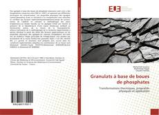 Bookcover of Granulats à base de boues de phosphates