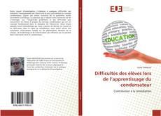 Portada del libro de Difficultés des élèves lors de l'apprentissage du condensateur