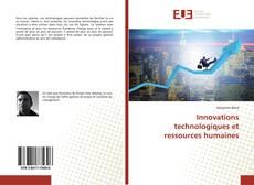 Borítókép a  Innovations technologiques et ressources humaines - hoz