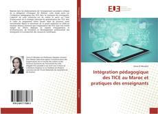Couverture de Intégration pédagogique des TICE au Maroc et pratiques des enseignants