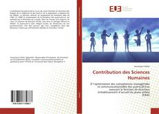 Bookcover of Contribution des Sciences Humaines
