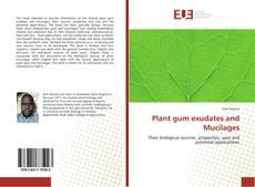 Plant gum exudates and Mucilages的封面