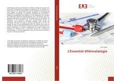 L'Essentiel d'Hématologie的封面