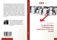 Обложка La planification stratégique des organismes à but non lucratif