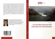 Le Caractère Dualiste Des Garanties Du Contribuable kitap kapağı