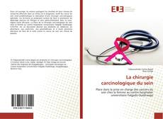Capa do livro de La chirurgie carcinologique du sein