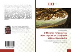 Portada del libro de Difficultés rencontrées dans la prise en charge de soignants malades