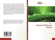 Abrégé de Médecine Sociale的封面