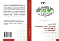 Buchcover von Personnalité de la marque: antécédents et conséquences
