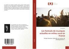 Portada del libro de Les festivals de musiques actuelles en milieu rural en France