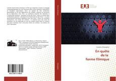 Bookcover of En quête de la forme filmique