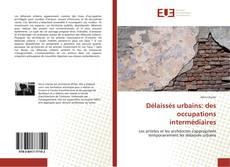 Couverture de Délaissés urbains: des occupations intermédiaires