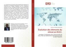 Обложка Évolution des éléments du climat en R.D.C.