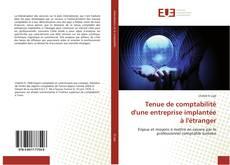 Couverture de Tenue de comptabilité d'une entreprise implantée à l'étranger