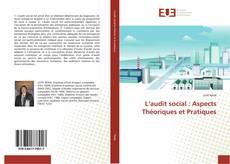 Couverture de L'audit social : Aspects Théoriques et Pratiques