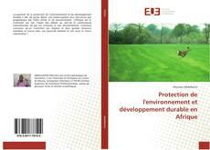 Capa do livro de Protection de l'environnement et développement durable en Afrique