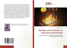 Bookcover of Relation entre inflation et croissance économique