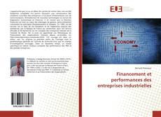 Financement et performances des entreprises industrielles的封面