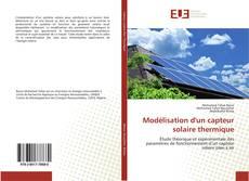 Capa do livro de Modélisation d'un capteur solaire thermique