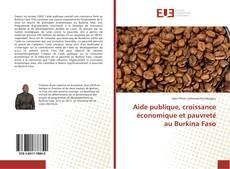 Bookcover of Aide publique, croissance économique et pauvreté au Burkina Faso
