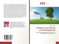 Bookcover of L'Afrique et les défis de son développement