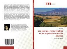 Capa do livro de Les énergies renouvelables et les populations rurales pauvres