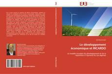 Couverture de Le développement économique et RICARDO