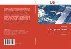 Bookcover of Francophautonomie