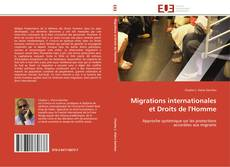 Обложка Migrations internationales et Droits de l'Homme