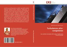 Bookcover of Turbulences afro-congolaises