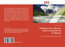 Buchcover von Utilisation des SIG pour l'aide à la gestion de l'irrigation
