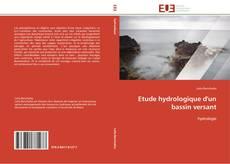 Обложка Etude hydrologique d'un bassin versant
