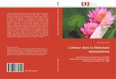 Capa do livro de L'amour dans la littérature vietnamienne